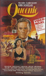 Queenie-Kirk-Douglas-Mia-Sara-Claire-Bloom-Highlight-Video-Collection-VHS