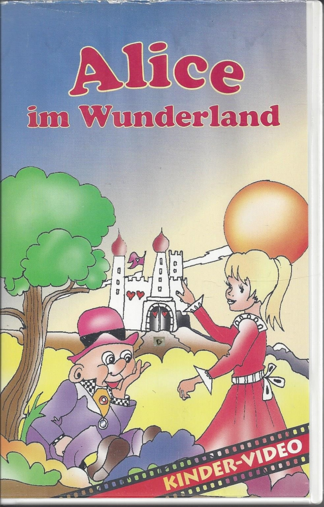 Alice im Wunderland, Kinder Video, VHS - P&C Inh. Andrea ...