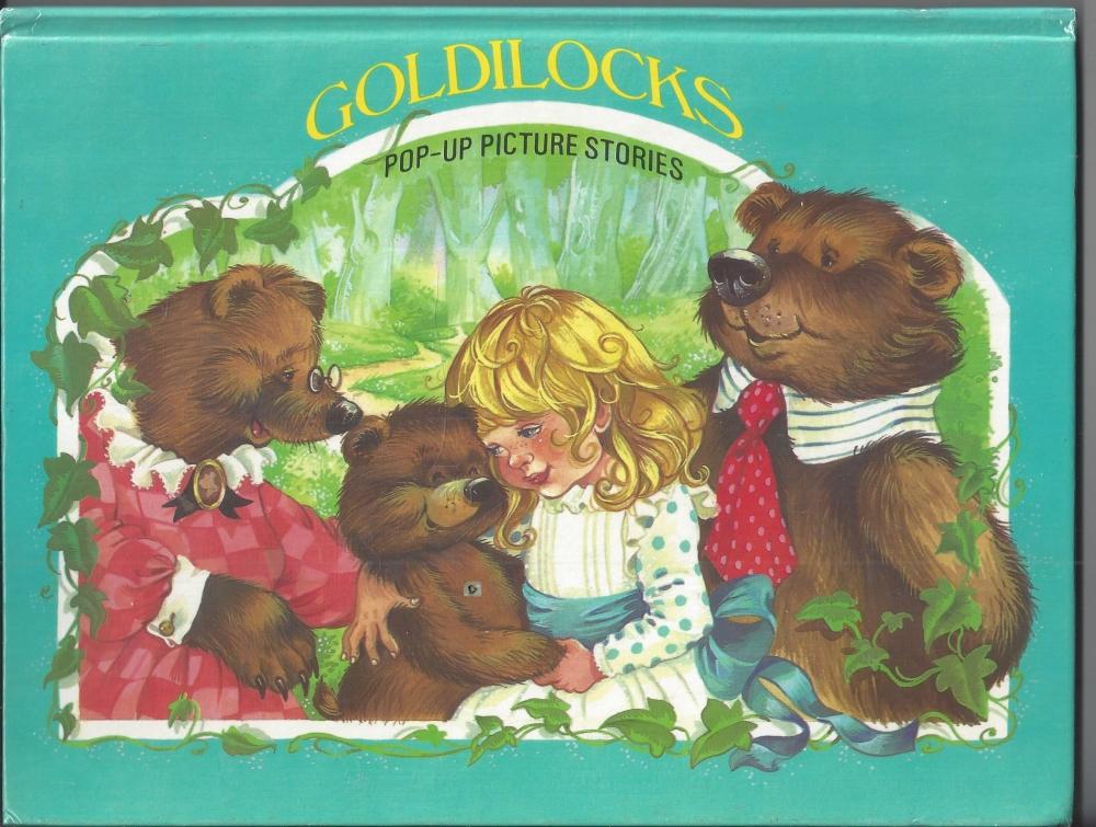 Goldilocks, Goldlöckchen, Pop up Picture Stories, Brown Watson, engl ...