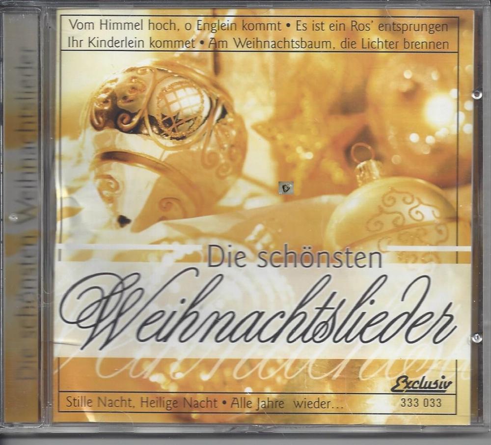 Weihnachtslieder Cd.Die Schönsten Weihnachtslieder Exklusiv Cd