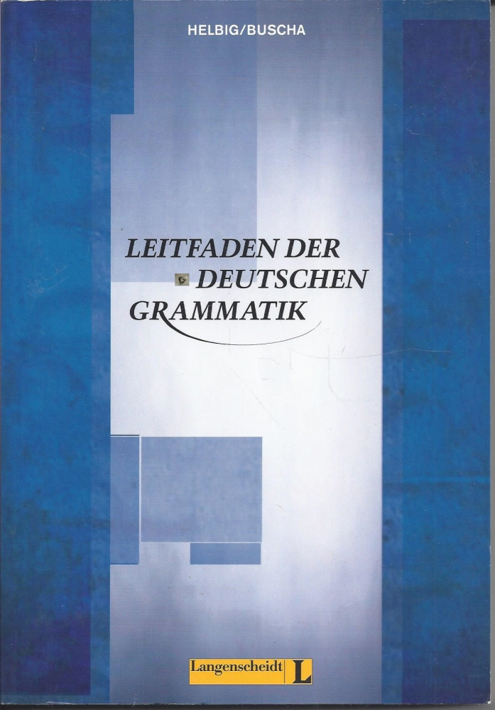 Leitfaden der Grammatik, Langenscheidt, Helbig, Buscha - P&C Inh ...